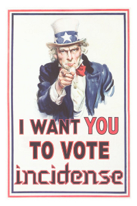 I want you to vote Incidense!